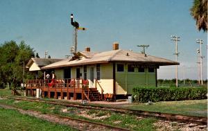 FL - San Antonio. Railroad Station