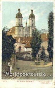 St Gallen Stifskirche Swizerland 1908