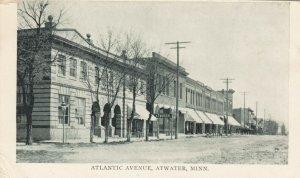 ATWATER , Minn., 1911 ; Atlantic Avenue