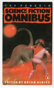 The Penguin Science Fiction Book Omnibus Dinosaur Cover Postcard