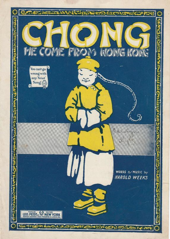 China , 00-10s ; CHONG , We come from Hong Kong Sheet Music