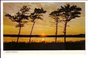 Sunset Cape Cod  Massachusetts, Hugo Poisson