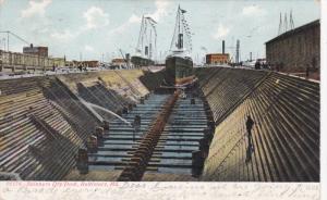 BALTIMORE, Maryland, PU-1907; Skinners Dry Dock