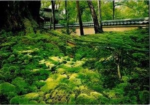 UNUSED VINTAGE JAPAN SAIHO-JI TEMPLE POSTCARD- Hyogensha Co.
