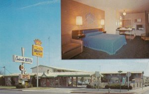 WOODLAND , California , 50-60s ; Cinderella Motel