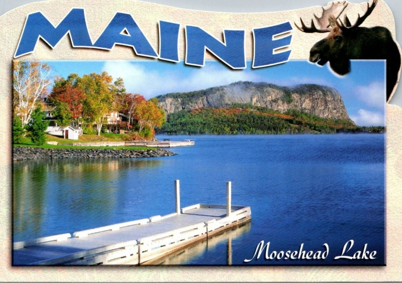 Maine Rockwood Mount Kineo Moosehead Lake