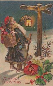 CHRISTMAS ; Brown Suit Santa Claus , 00-10s
