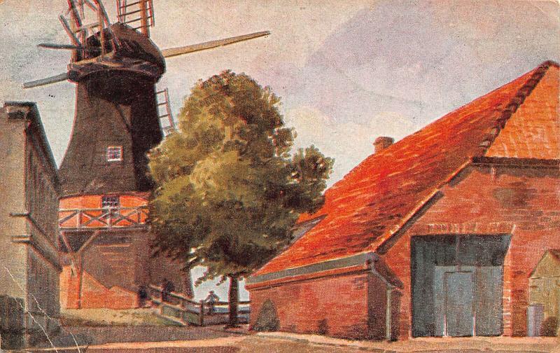 Wilhelmshaven Banter Muhle Mill Postcard
