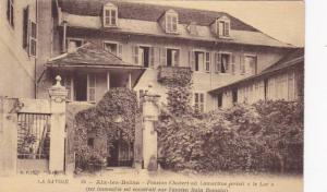 Pension Chabert Ou Lamartine Ecrivit Le Lac, Aix-Les Bains (Savoie), France...