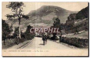 Old Postcard Le Mont Dore Puy Gros
