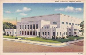 Kansas Emporia Civic Auditorium