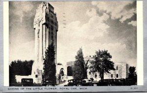 Michigan Royal Oak Shrine Of The Little Flower 1940