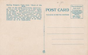 NIAGARA FALLS, Ontario, Canada, 1900-1910's; Maid Of The Mist