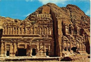 Jordan Petra Palace Tomb postcard