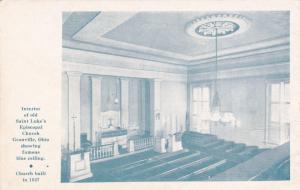 St. Luke's Episcopal Church , Interior , GRANVILLE , Ohio ; 1948