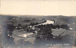 Marietta Ohio~Muskingum Valley~Farmland & River~Washington County~c1910 RPPC