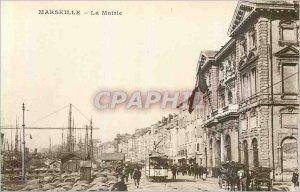 Postcard Old Marseille The Mayor Tram