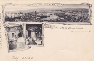 GENUA [Genova] (Riviera-Hospiz), Italy , 1890s ; Deutches Christliches Hospiz