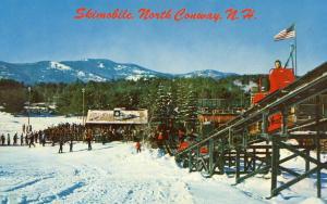 NH - North Conway. Skimobile on Cranmore Mountain