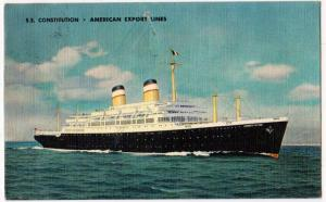 SS Constitution, American Export Lines