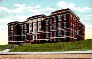 Massachusetts Salem High School 1909