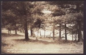 Boat Landing,Cedar Lodge,Spider Lake,WI Postcard