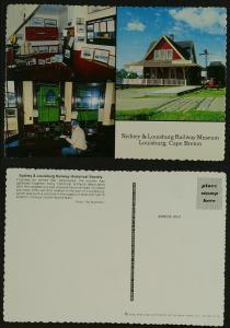 Sydney & Louisburg Railway Museum c 1980s