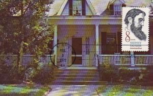 Georgia Macon Sidney Lanier Birthplace 1972