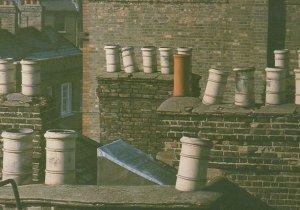 Canonbury Cross Street North London Chimney Pots 1980s Postcard