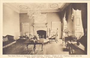 Virginia Fredericksburg The Great Room At Kenmore Albertype