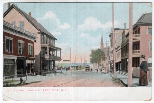 Lakeport, N.H., Depot Square Union Ave.