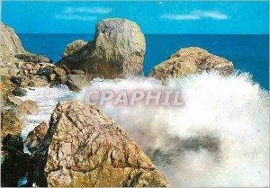 Postcard Modern Riviera del Fiori Arcobaleno