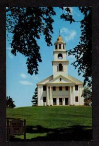 NH Old Meeting House WESTMORELAND NEW HAMPHIRE Postcard