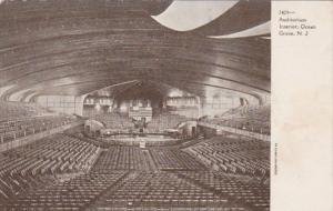 New Jersey Ocean Grove Auditorium Interior