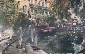 CHELTENHAM, England, 00-10s ; The Promenade & Fountains ; TUCK 1673