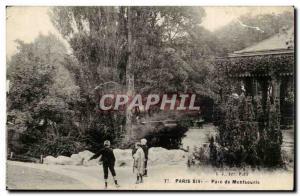 Paris (14) Old Postcard Montsouris