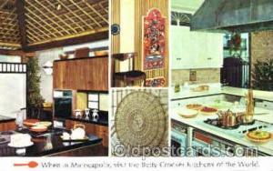 Betty Crocker Kitchens Advertising Postcard Post Card Unused