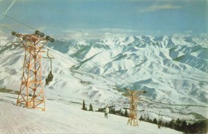 Postcard Sun Valley Idaho Union Oil Company Color Scenes Of The West