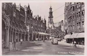 Netherlands Amsterdam Raadhuisstraat Real Photo