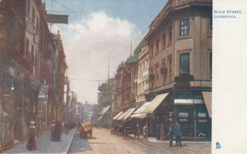 LIVERPOOL, England, 00-10s; Bold Street , TUCK # 1461