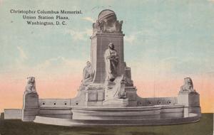 Washington, D.C., PU-1913 ; Columbus Memorial, Union Station Plaza