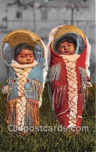 Reno, NV, USA Postcard Post Card Piute Papooses