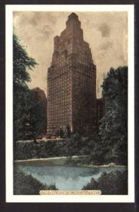 Saint Moritz on the Park Hotel New York NY Post Card 5478