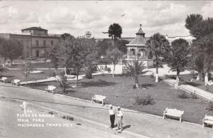 RP: Plaza de Armas , MATAMOROS , Tamps. Mexico , 30-40s