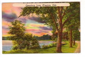Country Road by Lake, Greetings from Trent, Ontario, Made in USA