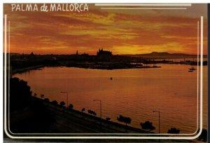 Postcard - Palma - Amanecer En El Puerto - Mallorca Espana Spain