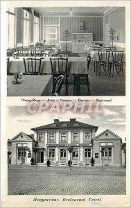 Postcard Old Maggarovar Restaurant Triest