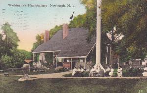 Hand-colored, Washington's Headquarters, Newburgh, New York, PU-1931