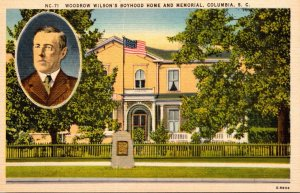 South Carolina Columbia Woodrow Wilson's Boyhood Home and Memorial