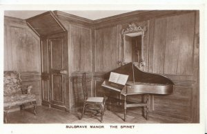 Northamptonshire Postcard - Sulgrave Manor - The Spinet - Ref 1858A
